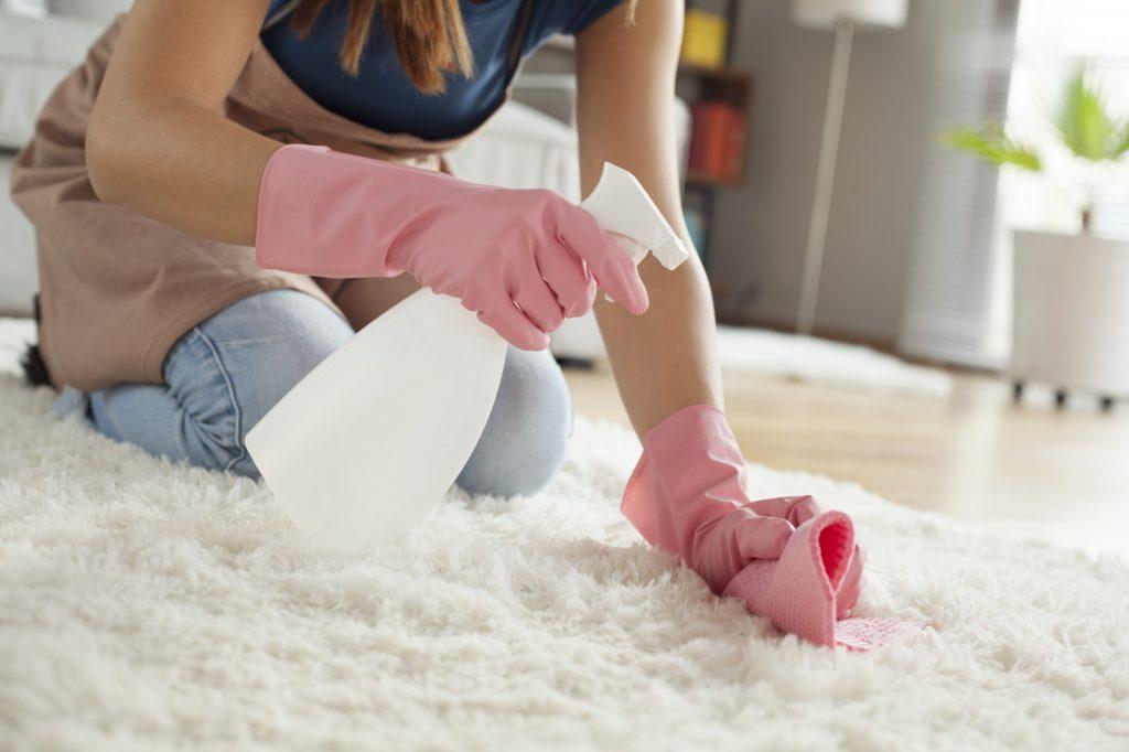 clean a rug